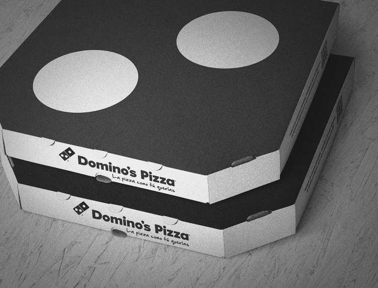 Domino's Pizza - Piece Box - Guillermo Barbero