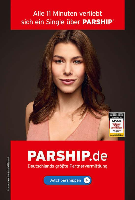 Model 2013 werbung parship Partnerschaftsvertrag: Parship