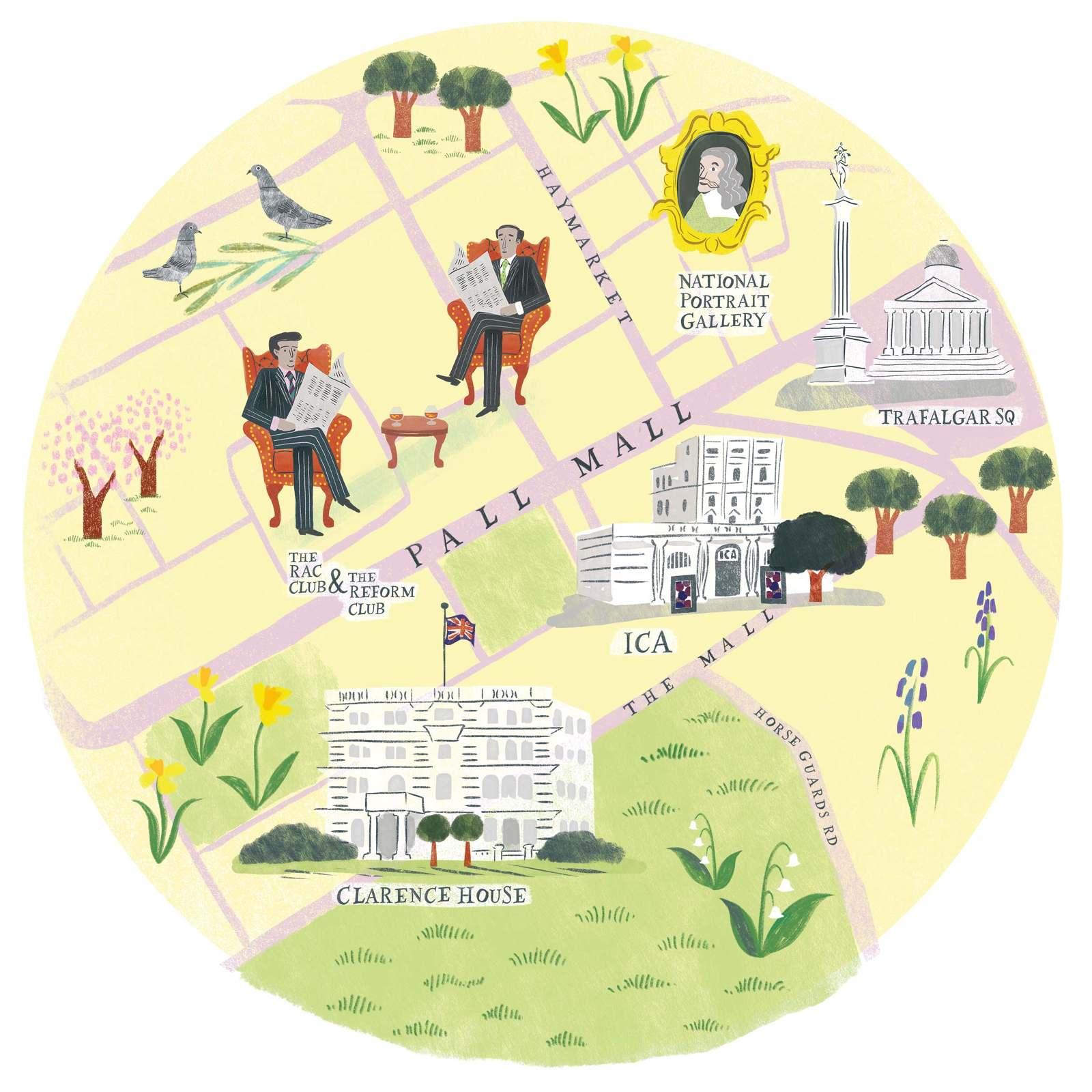 The Mall London Map.Pall Mall Map Www Lucybanaji Com
