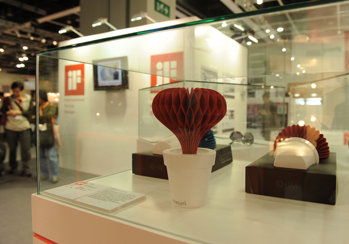 ID+IM Presented at BODW(Business of Design Week) Honkong as IF Award