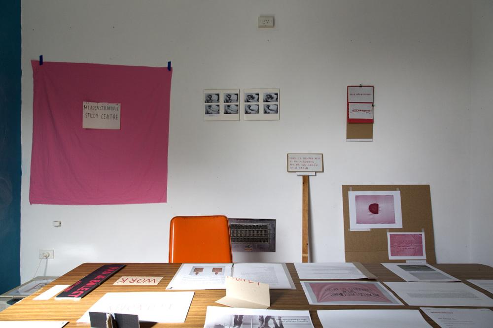 Mladen Stilinović Study Centre - Julia Bavyka