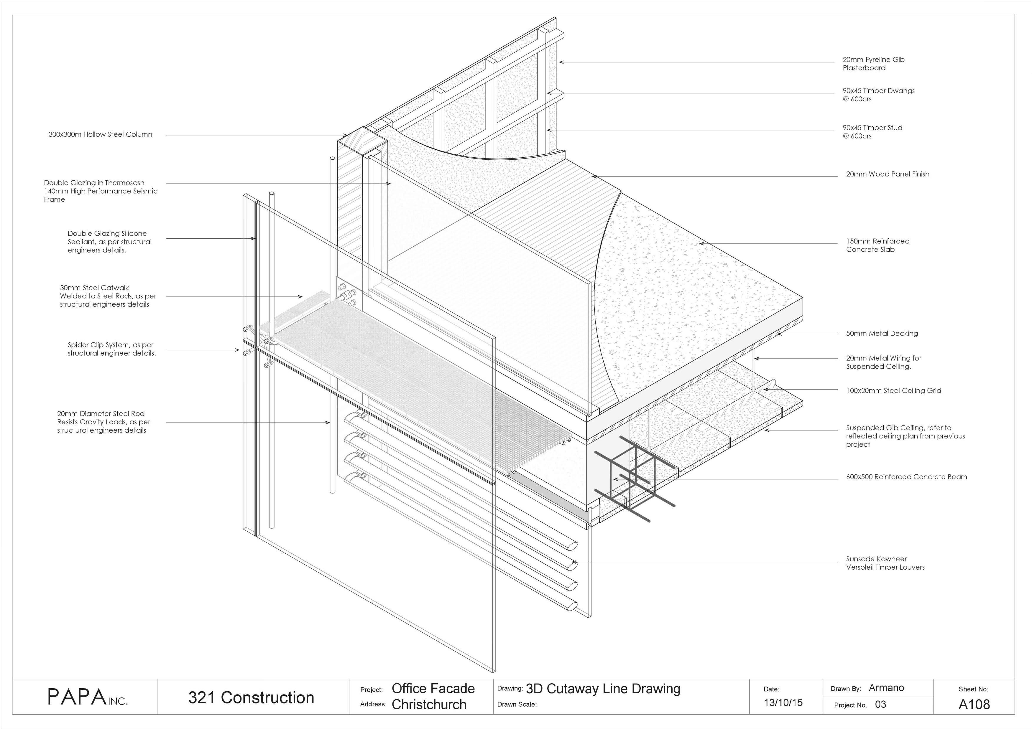 Facade Construction - Armano Papageorge