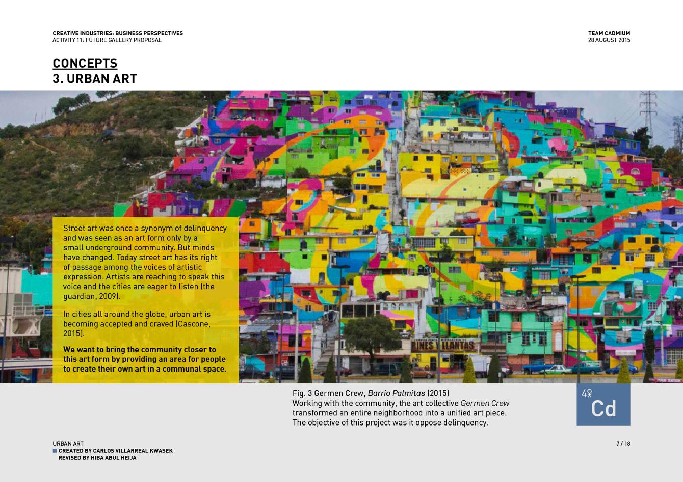 Future Gallery Interdisciplinary Presentation Brief: PARK