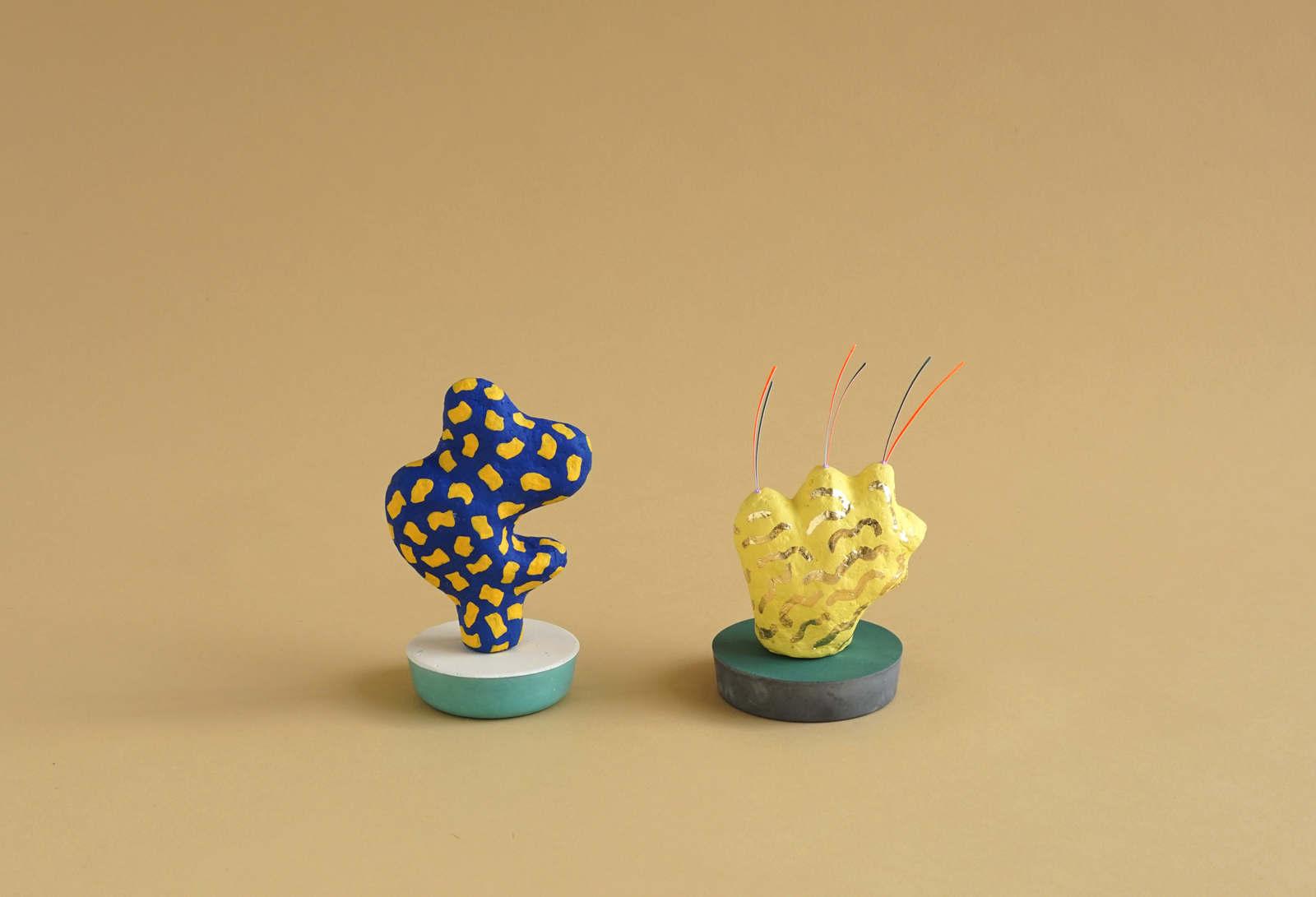 The Cartoon Plant Sculptures - Adam Frezza & Terri Chiao