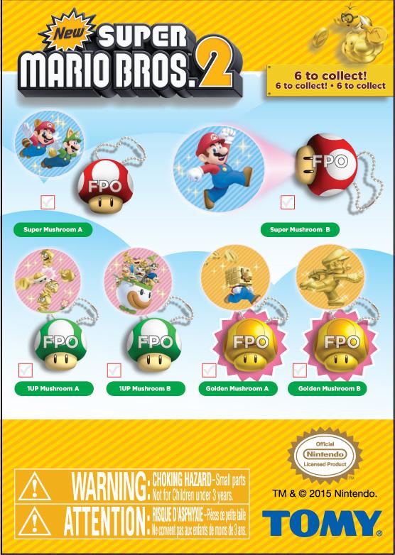 New Super Mario Bros  2 Mushroom Projectors - Ramon Lechuga