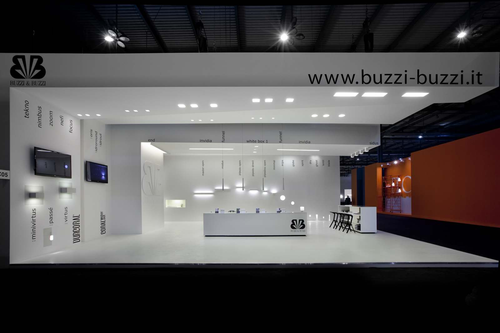 Buzzi & Buzzi Lighting buzzi & buzzi - chiara fanigliulo architect