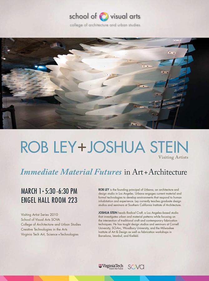 03 10 Lecture Visiting Artist Joshua G Stein To Speak At Virginia