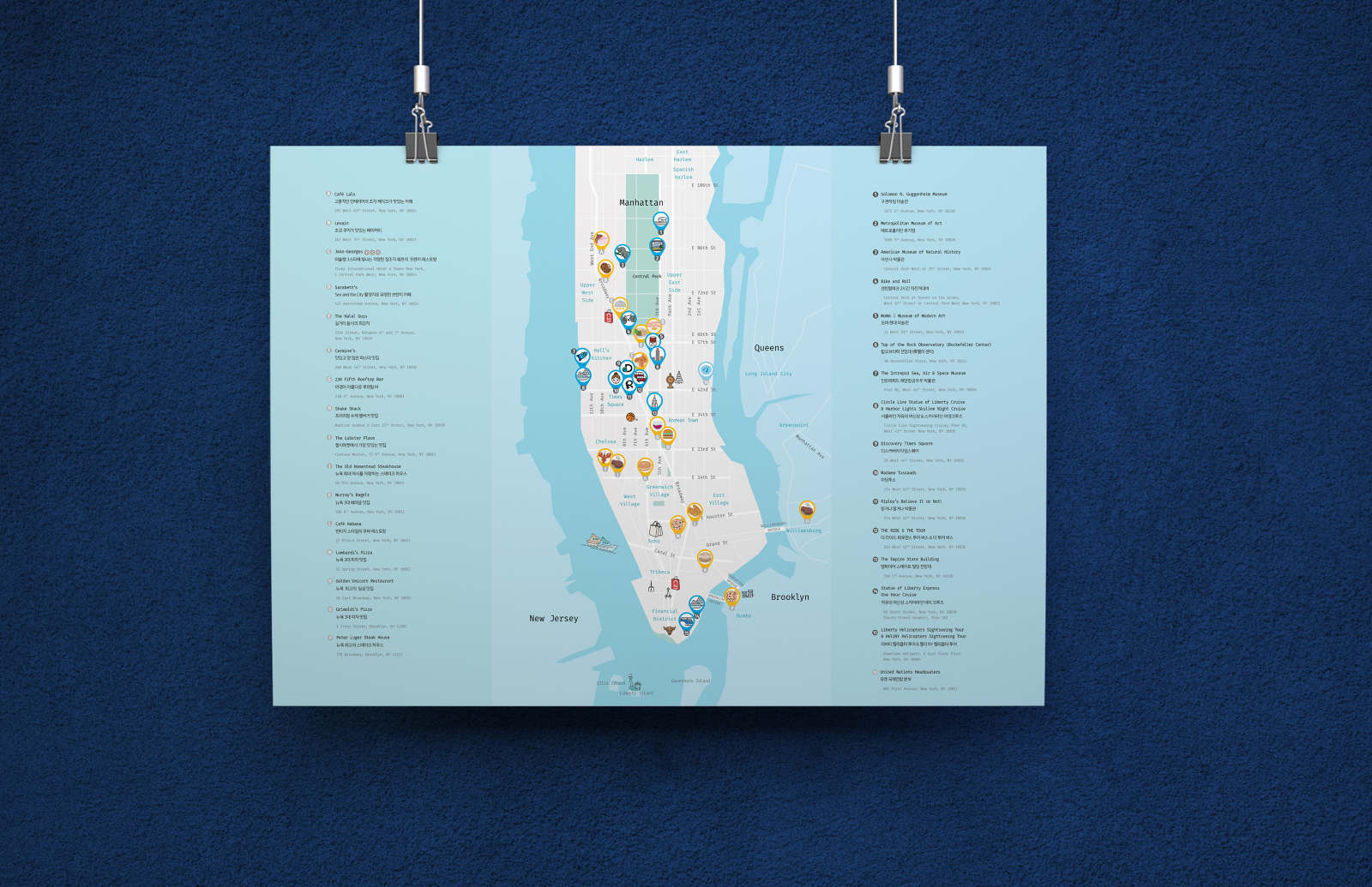 Map Of New York City Attractions.Nyc Attractions Map Lynn Choi