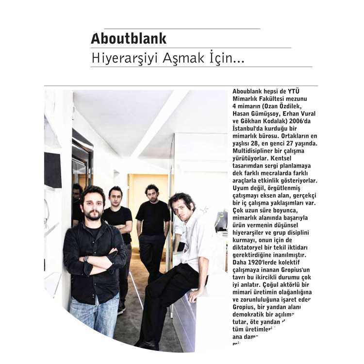 aboutblank profile arredamento magazine aboutblank