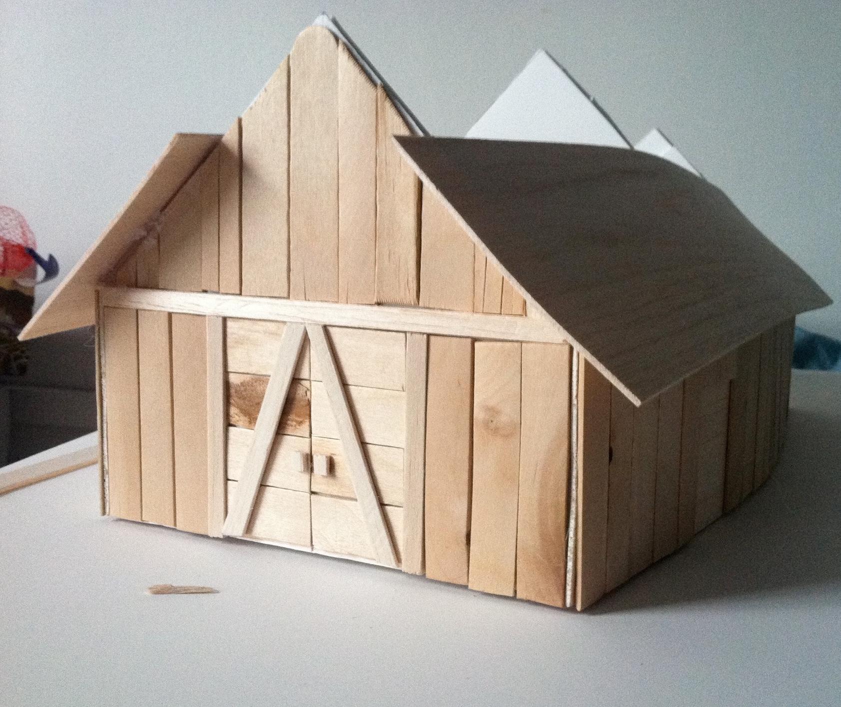Viking Longhouse Alex Berner