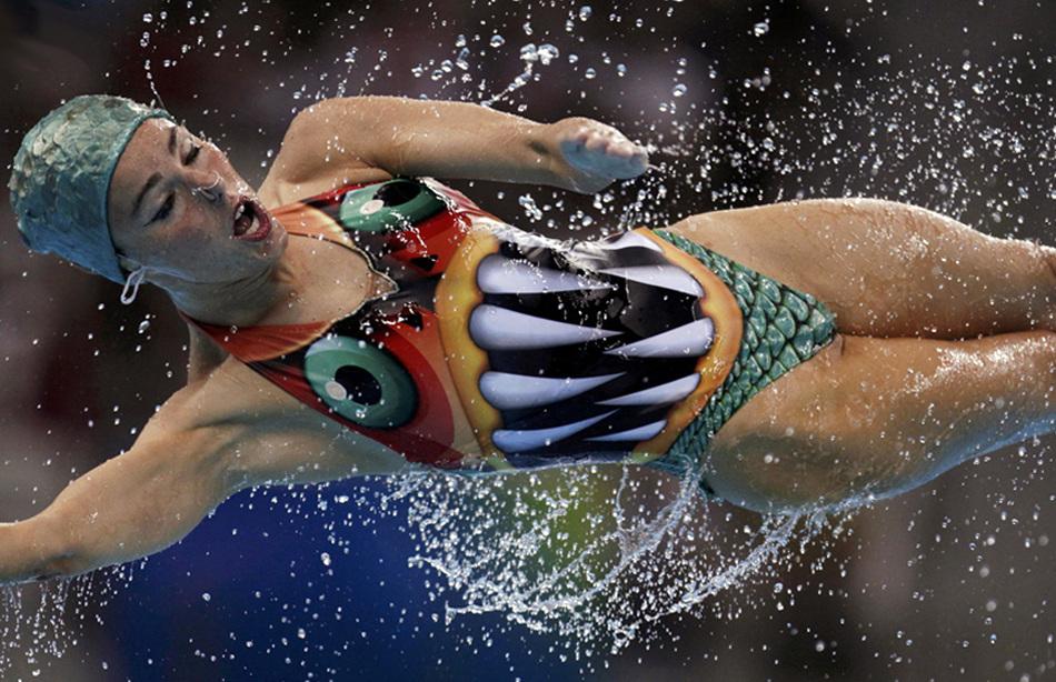 Пловец картинки прикольные