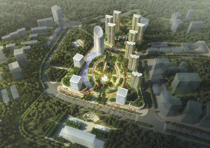 Jinhai Panzhihua Mixed Use Development - MAKING FUTURE_M F WORKGROUP