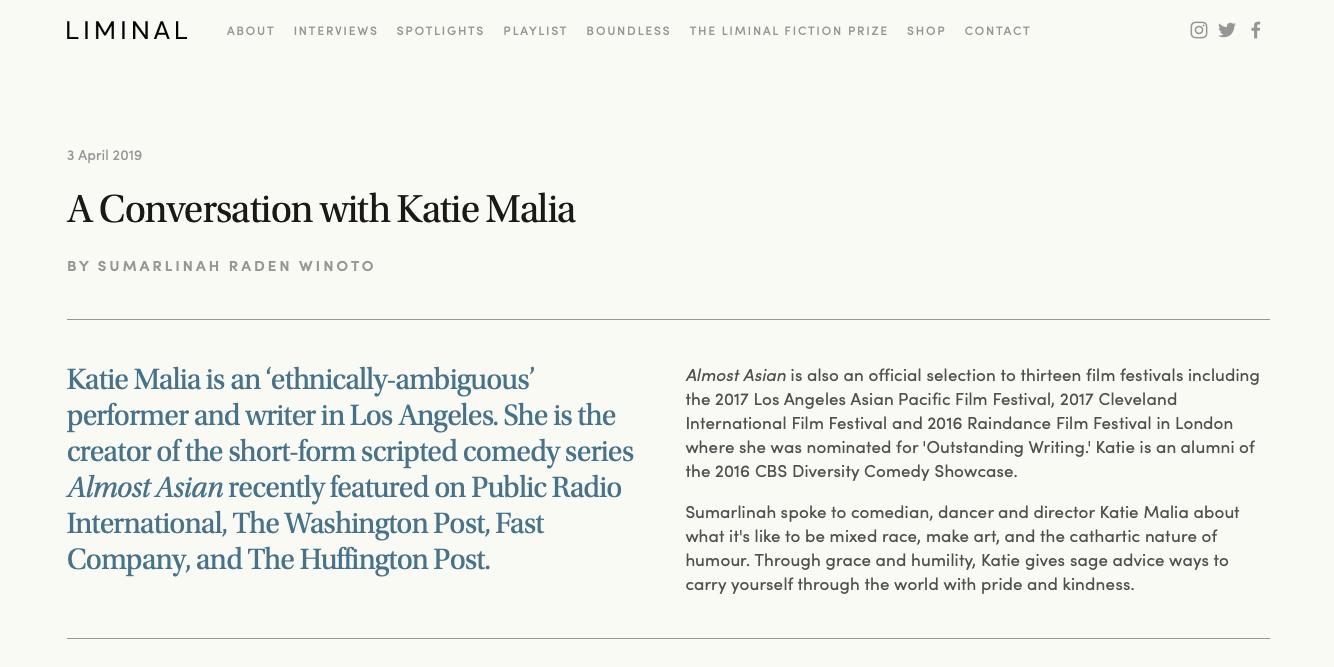 PRESS - www katiemalia com