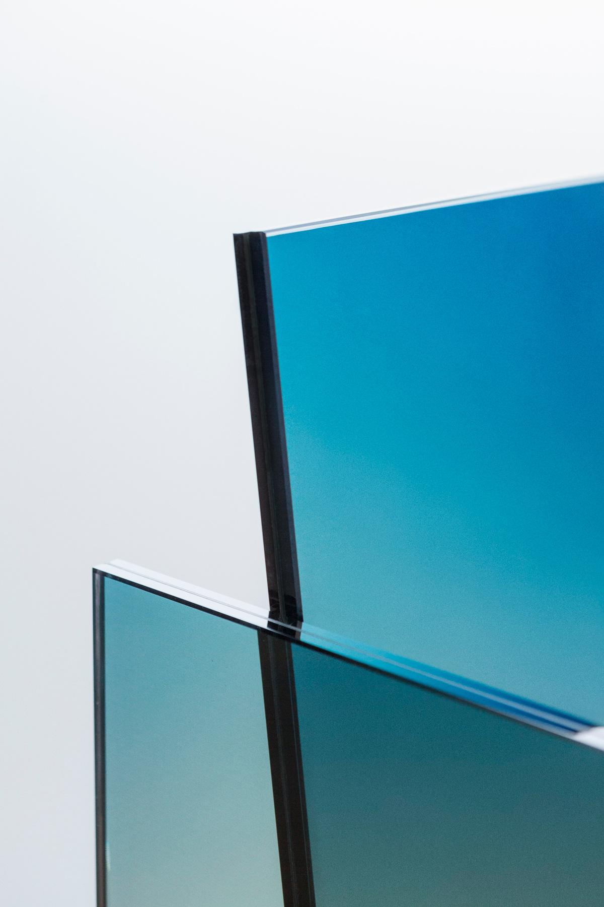 Ombré Glass Chair - Germans Ermičs