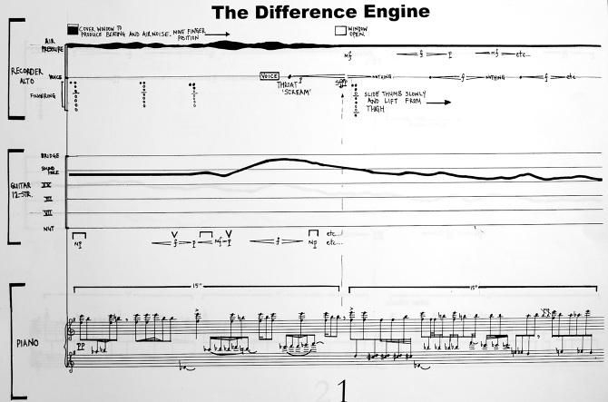 The Difference Engine 1999 Daniel Beban