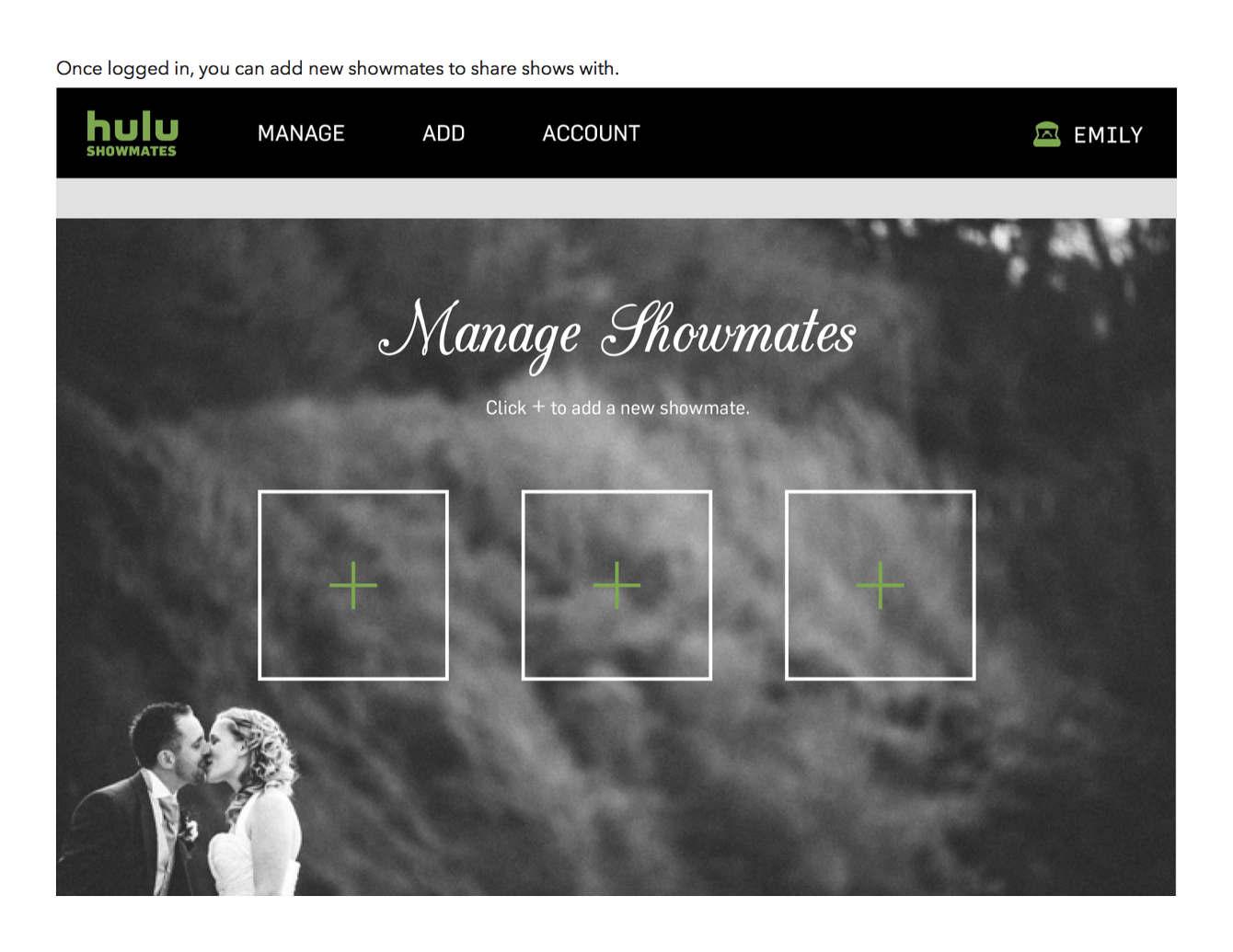 Hulu - Shareina's portfolio