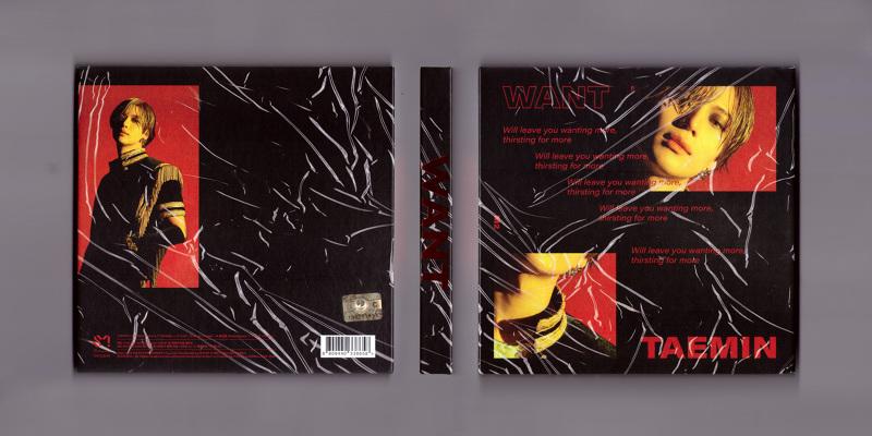 TAEMIN The 2nd Mini Album 'WANT' more ver  - 스튜디오 오드하이픈