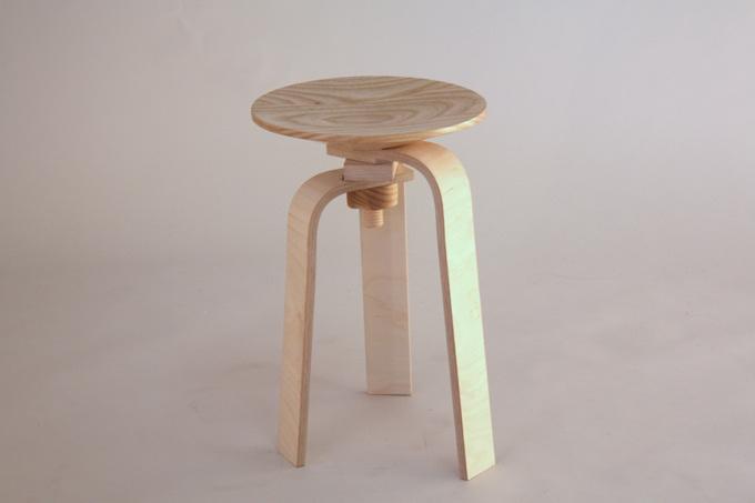 Fine Knock Down Stool Michael Stevenson Furniture Theyellowbook Wood Chair Design Ideas Theyellowbookinfo