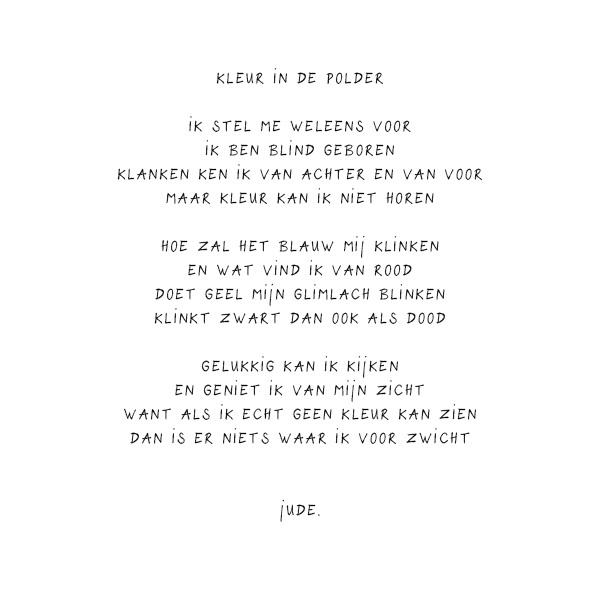 Genoeg Gedichtjes - Studio Judith van Lierop @DG03