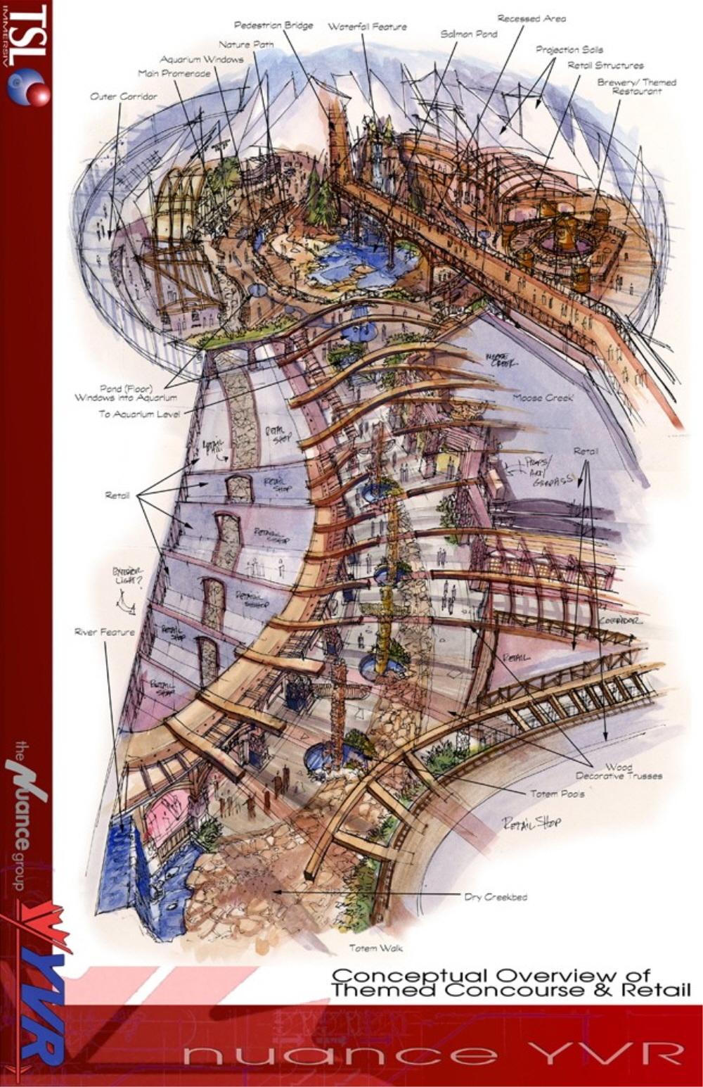 JFK Terminal 4 Design Concept JKF IAT, NY - Corbel Architects