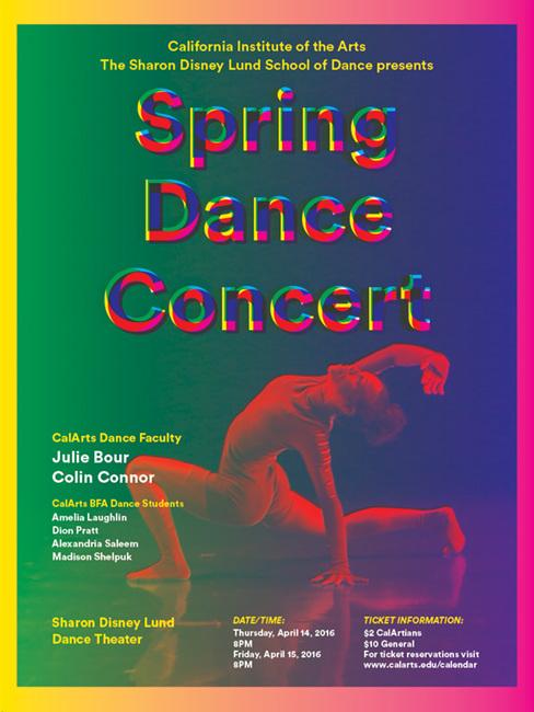 CalArts Spring Dance Poster - smithstuart