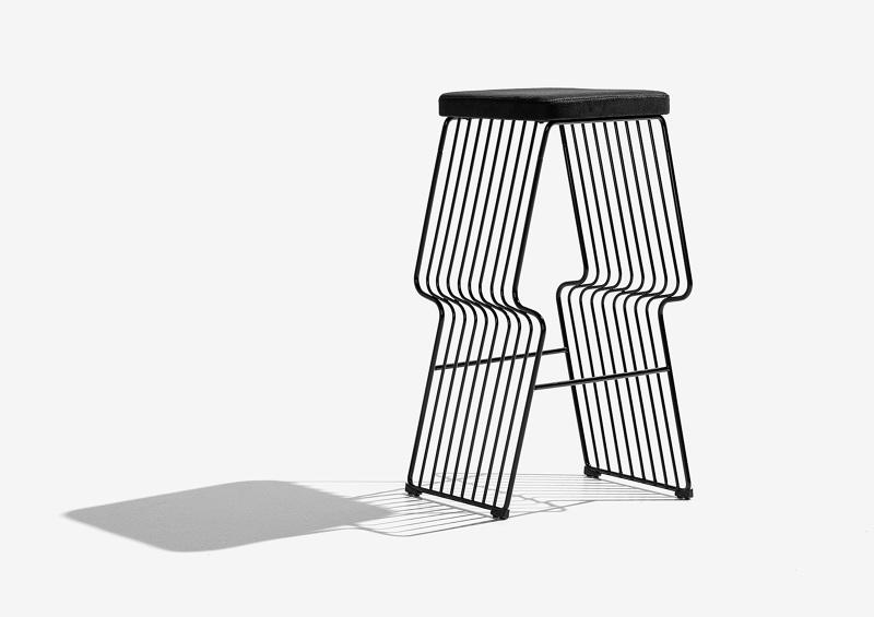 Fabulous Warp Bar Stool Henrijudin Bralicious Painted Fabric Chair Ideas Braliciousco