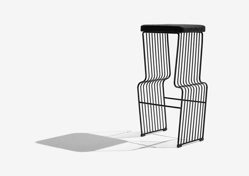 Peachy Warp Bar Stool Henrijudin Bralicious Painted Fabric Chair Ideas Braliciousco