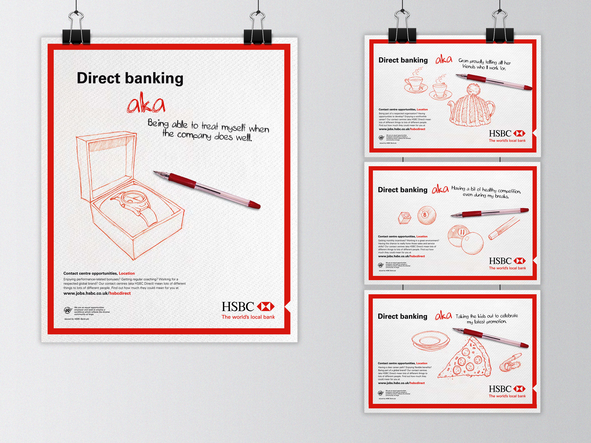 HSBC - kenicreative