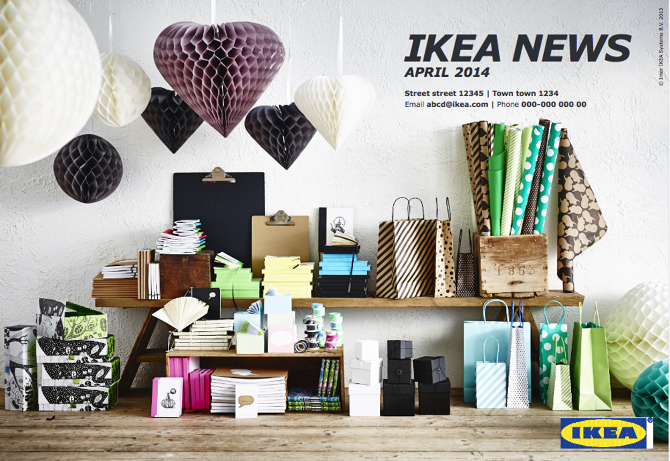 Ikea Global Pr Packages Noted