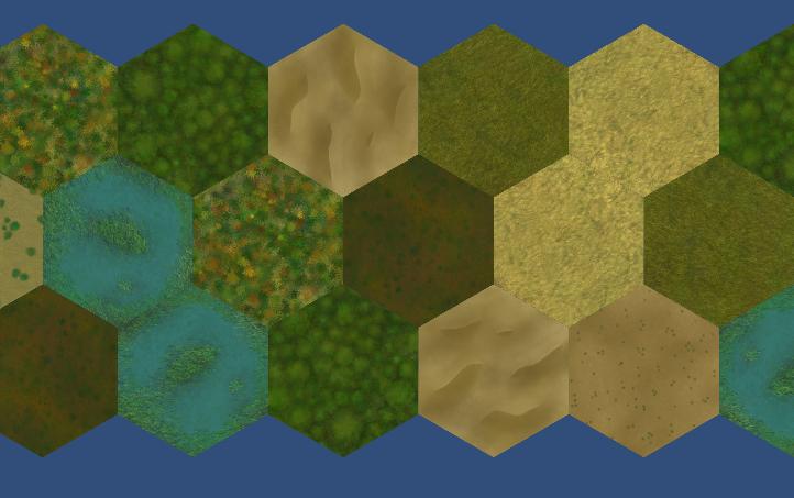 Unity Scene: Terrain Tiles - Em K Reishus