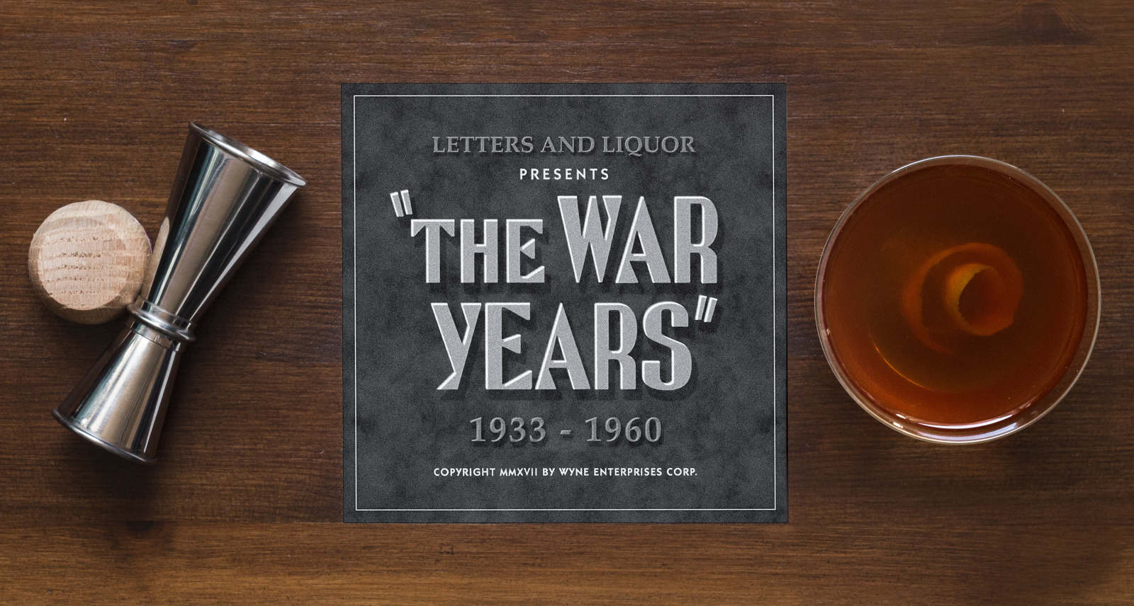 10  OLD FASHIONED: 1870s - Letters and Liquor