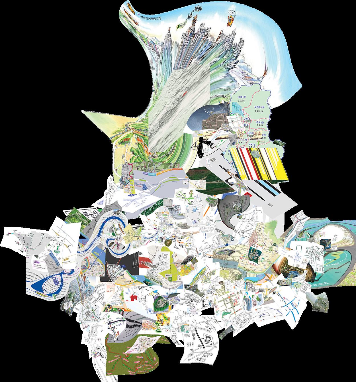 Uninformation Mapping & Video - Minkee Bae