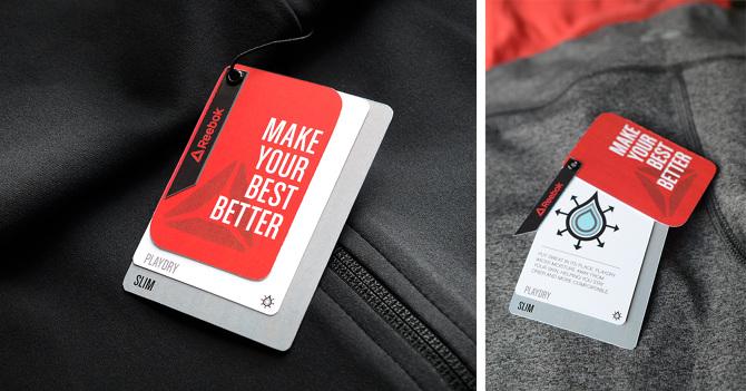 Reebok Hangtag System Sarah Osborn Design Portfolio