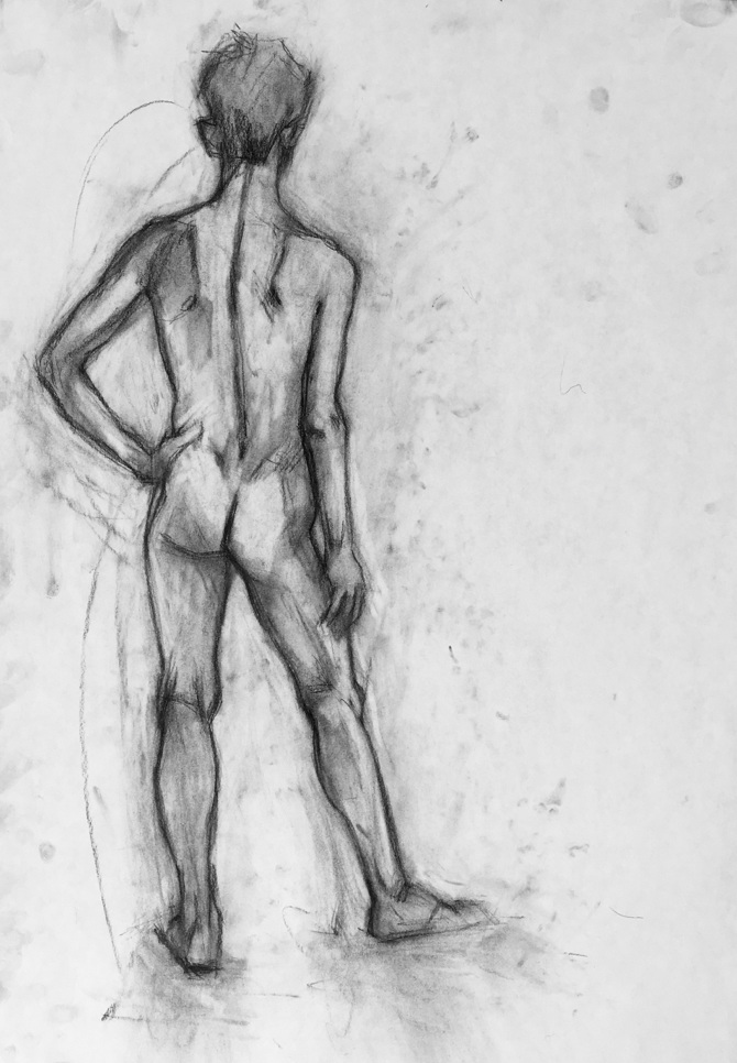 FIGURE DRAWING - Anna Wagner
