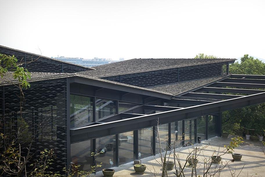 China Academy Of Art S Folk Art Museumby Kengo Kuma Amp A