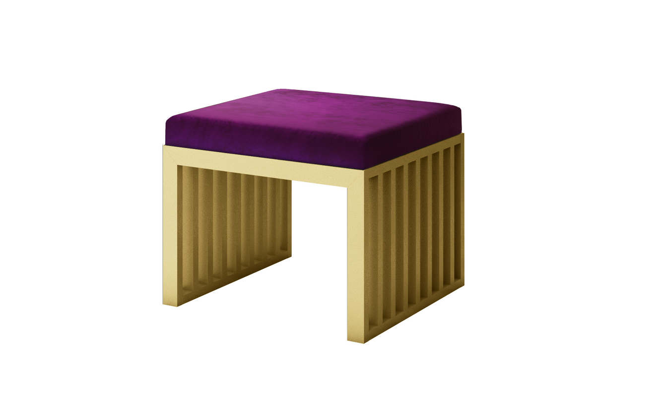 Astonishing Luxury Modern Bench Styles Purple Velvet With Gold Frames Machost Co Dining Chair Design Ideas Machostcouk