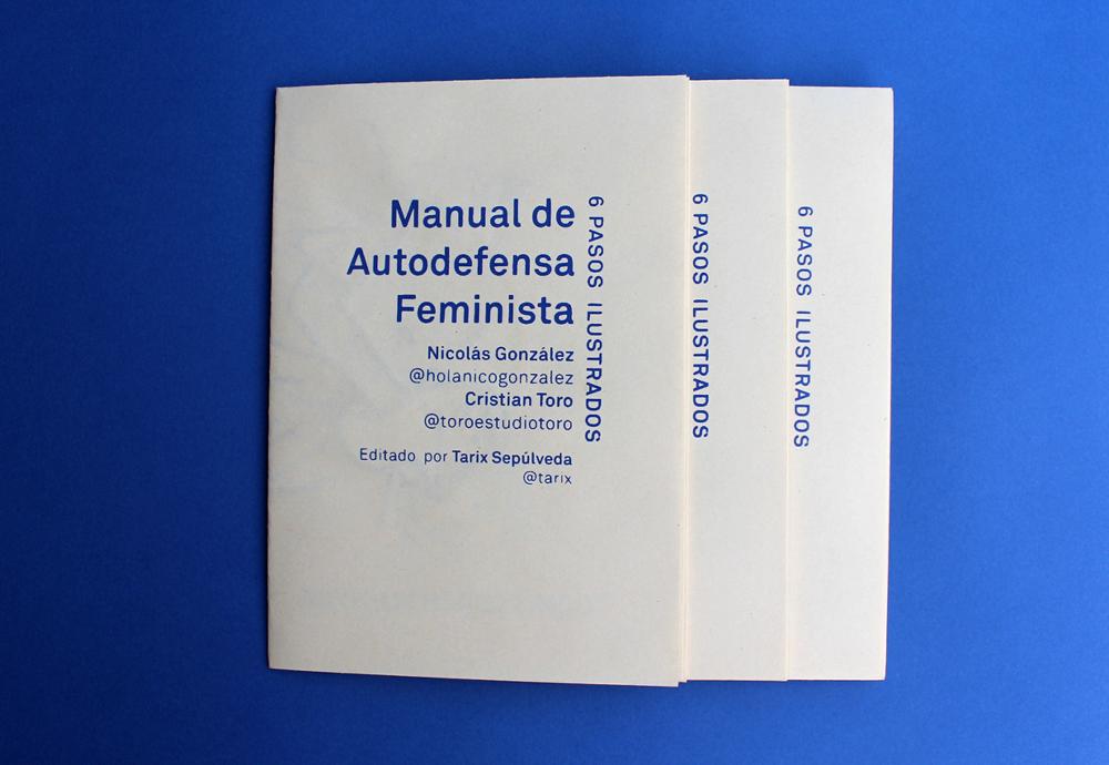 zine cover: Manual de Audofensa Feminista