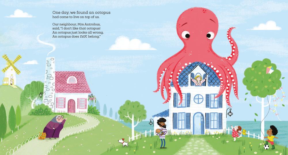 Octopus Shocktopus - Steven Lenton Illustration