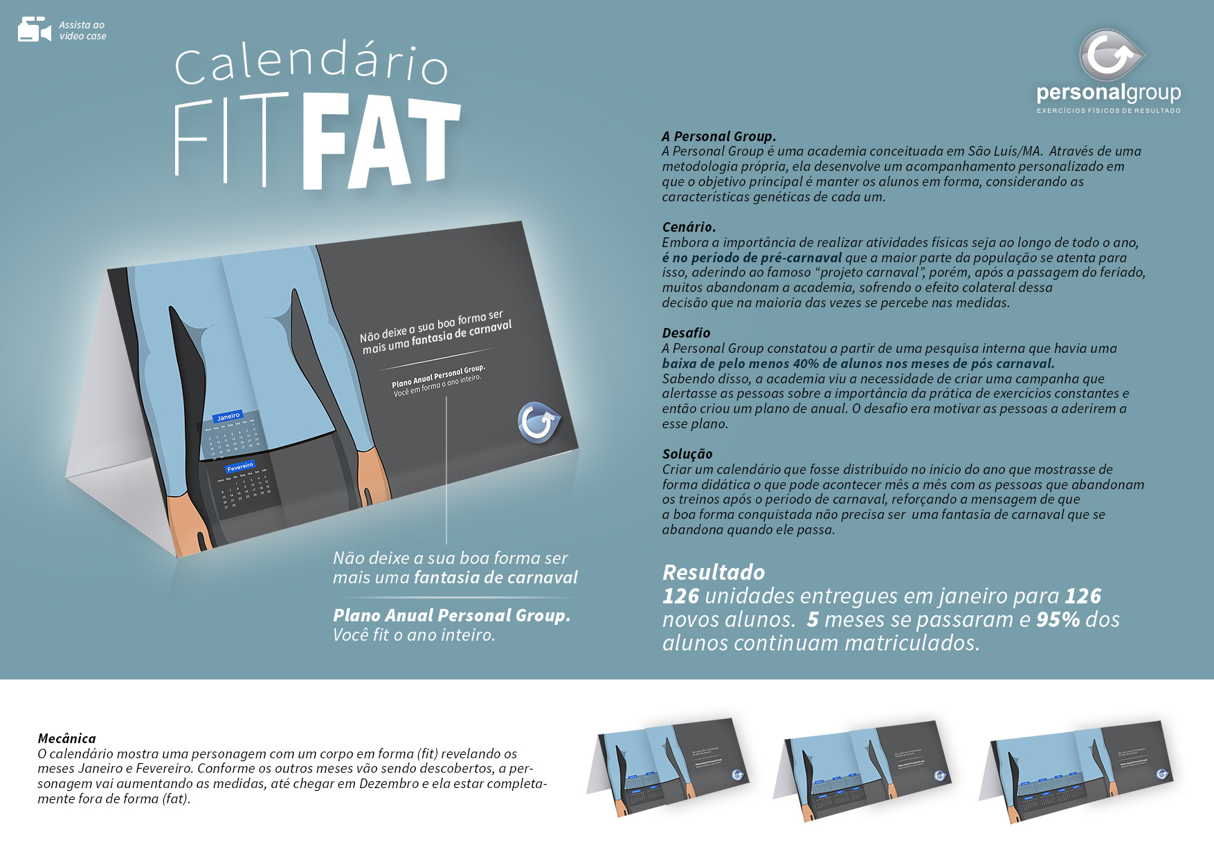 Calendario Fit.Fit Fat Tirzar Azevedo