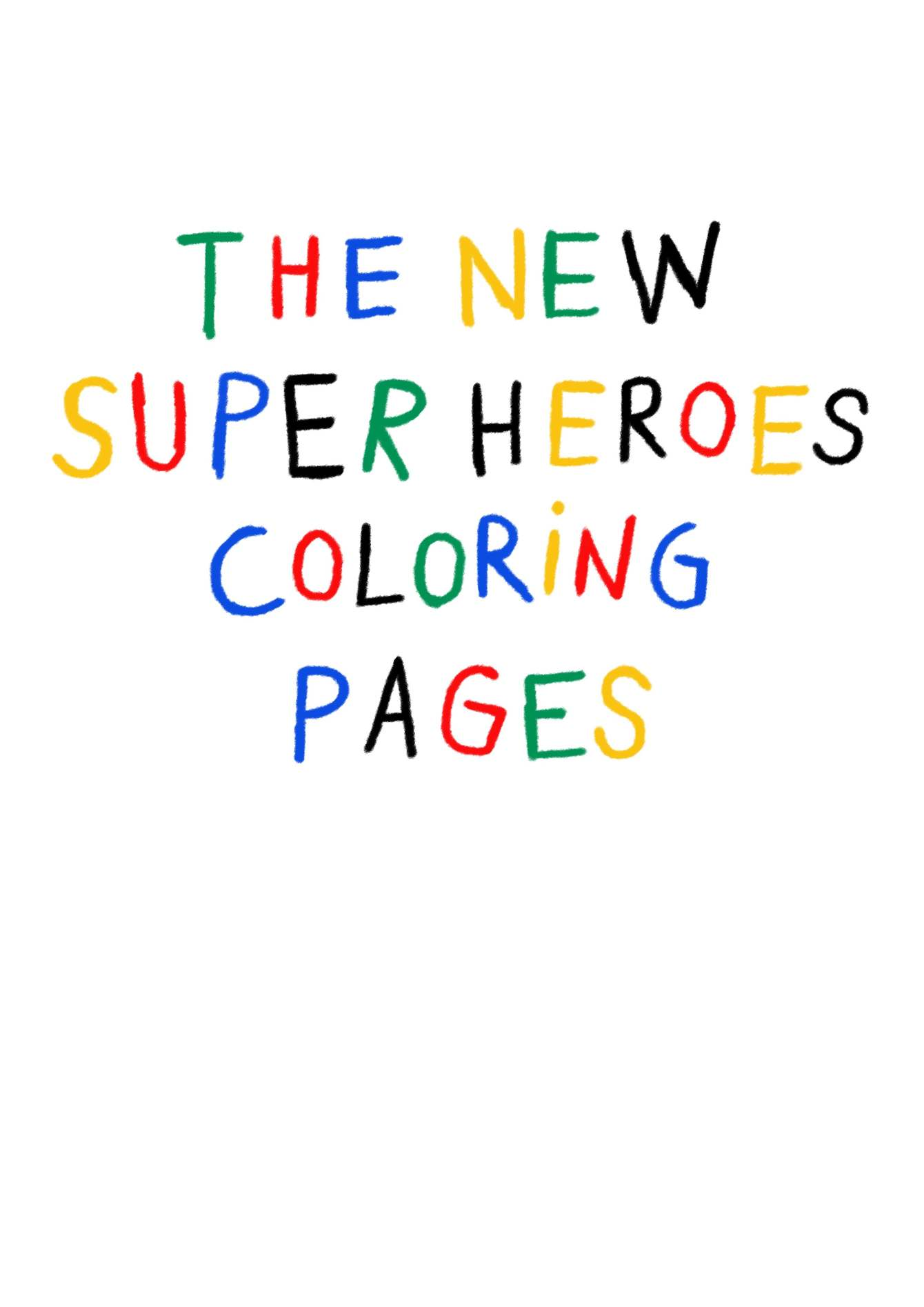 Superhero Coloring Pages - Best Coloring Pages For Kids   1895x1340
