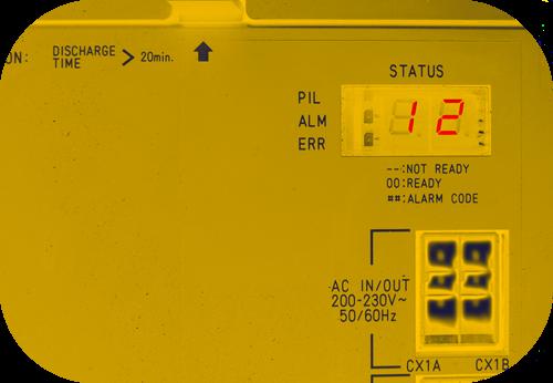 SPINDLE AMPLIFIER MODULE ALARMS - HADFIELD CNC & ELECTRONICS CO LTD