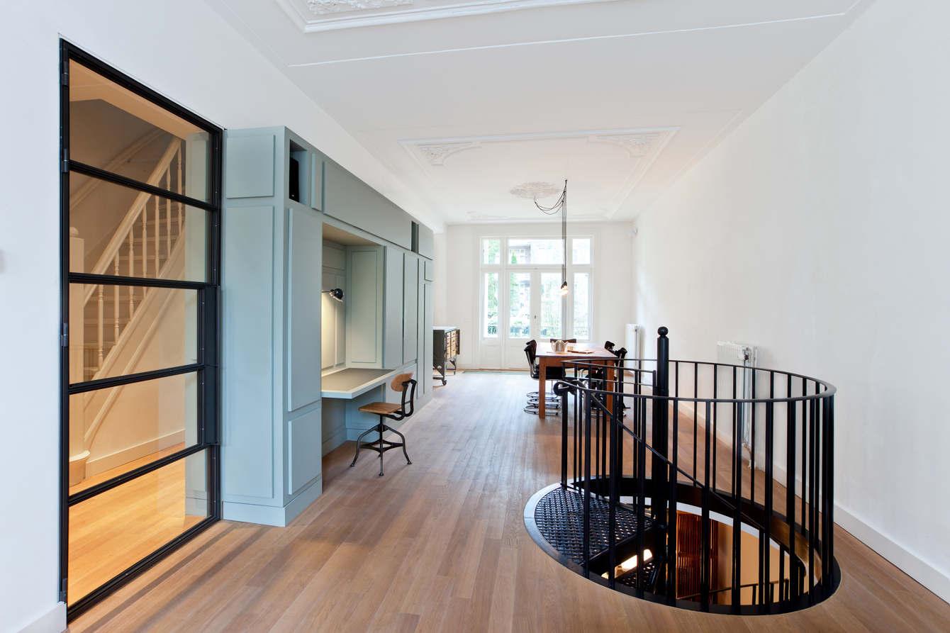 Keuken In Souterrain : Woonhuis amsterdam i abbie steinhauser
