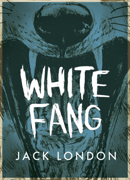 White Fang Book Cover : Book posters drew shannon illustration