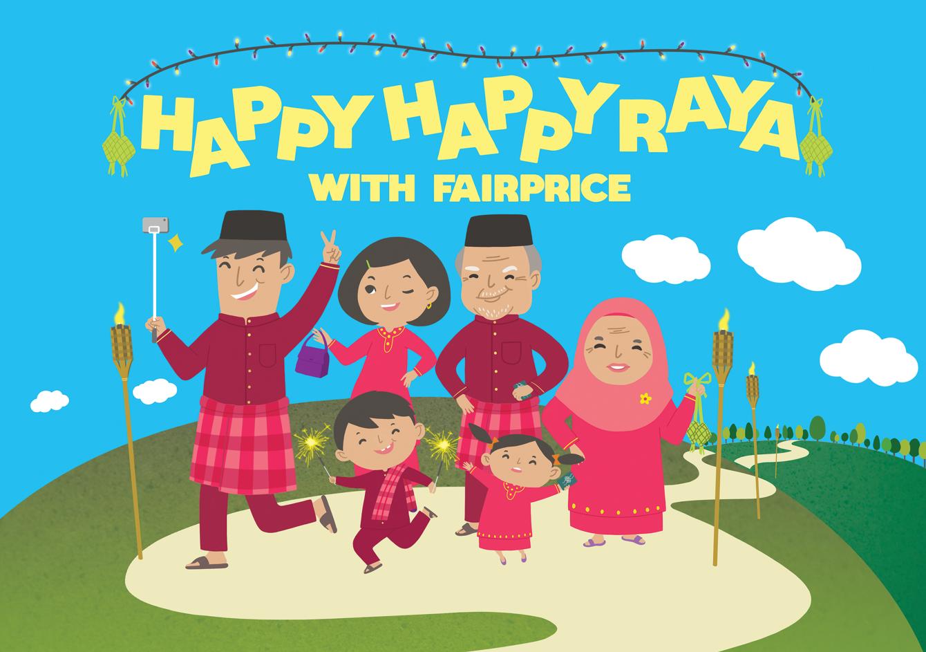 Fairprice Finest Hari Raya 2015 Twisstii