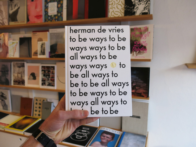 Herman De Vries To Be All Ways To Perimeter Books