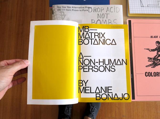 Melanie bonajo u2013 matrix botanica u2013 non human persons perimeter books