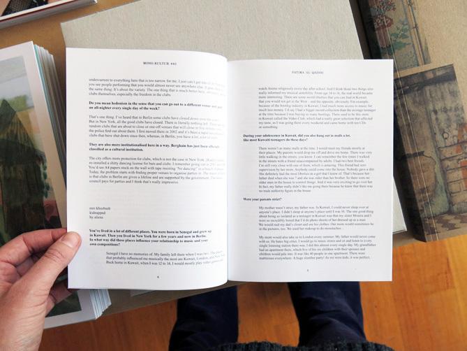 7ea2c7cc51ce mono.kultur #43 Fatima Al Qadiri: Embedded Narratives - Perimeter Books