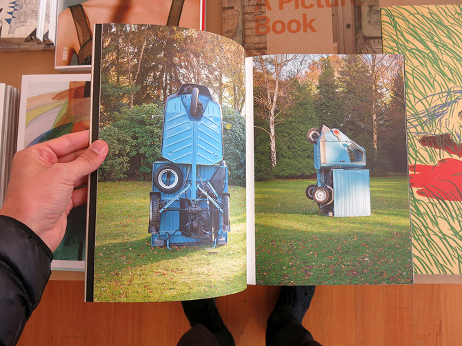 Roman Signer - Project pour un jardin - Perimeter Books