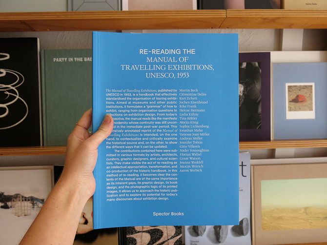 Re-reading the Manual of Travelling Exhibitions - Perimeter Books