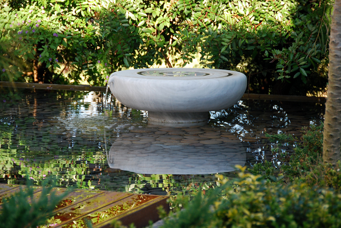 Agua ana ashida jardines - Fuentes de marmol para jardin ...